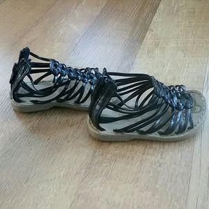 Tiny gladiator sandals